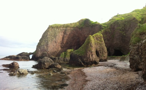 Caves at Cushendun